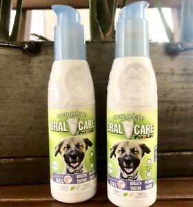 PetzLife~Complete Oral Care Gel~Salmon flavor Dog's Breath,Tatar,Plaque,Gums*Dmg