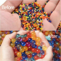 5000 Orbeez Water Aqua Soil Crystal Bio Gel Balls Beads Decoration Vase Filler
