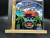 SEGA Ages: OutRun w/spine (Sega Saturn,1996 ) from japan