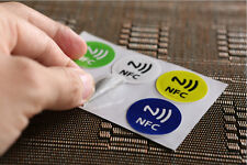 6X NFC Tags Stickers Ntag216 888 Bytes Label NDEF for Samsung Sony HTC Nexus LG