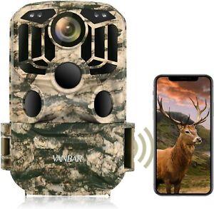 Vanbar Wildlife Kamera WiFi 1296p 24mp, Jagd Trail Kamera mit Nachtsicht