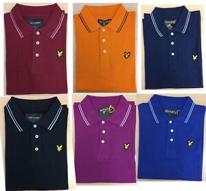 LYLE AND SCOTT SHORT SLEEVE TRIP IN COLLAR  POLO SHIRT FOR MEN