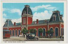 Custom house, Ciudad Juarez, Mexico - Old Postcard
