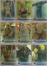 "Xena Seasons 4&5 - ""Gabrielle: The Battling Bard"" Set of 9 Chase Cards #G1-G9"