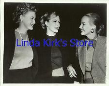 Faye Emerson Jane Morgan & Denise Darcel Promo Photograph  ABC-TV 1950