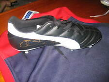 MELBOURNE FC : CAMERON BRUCE HAND SIGNED PUMA FOOTBALL BOOT UNFRAMED