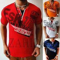 sudor- Camiseta T-Shirt Manga larga Sudadera Suéter De Hombre V-Y-cuello S a