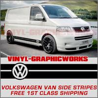Volkswagen VW Side Stripes Decals Transporter T4 T5 Campervan Vehicle Graphics
