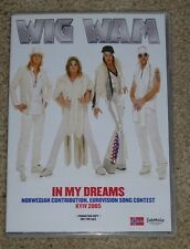Eurovision Song Contest 2005 Norway Wig Wam In My Dreams Promo presskit CD