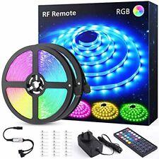 12M(39.4ft) LED Strip Lights Kit with RF Remote, Novostella RGB Light Colour Cha