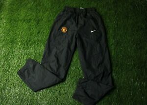 MANCHESTER UNITED 2011-2012 FOOTBALL SOCCER PANTS TRAINING NIKE ORIGINAL YOUNG L