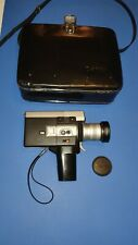Canon 518 Auto Zoom Super 8 Cine Film Camera in Case
