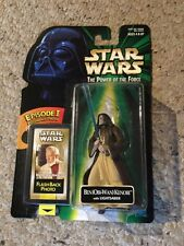 Nib Star Wars Tpotf Ben Obi-Wan Kenobi W/ Lightsaber. Flashback Photo.
