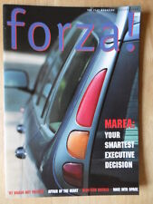 Fiat Forza 1996 Uk Mkt Revista Folleto-Bravo Hgt Marea
