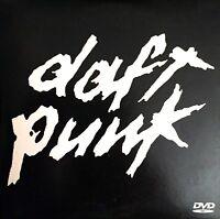 DAFT PUNK DVD PROMO DAFT PUNK VIDEO MEDLEY CARDBOARD SLEEVE RARE COLLECTOR PROMO