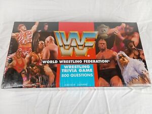 *NEW* 1997 WWF World Wrestling Federation Trivia Game / Cards. The Rock Rookie