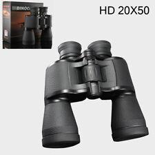 HD 20X50 Anti-fog Binoculars Night Vision Compass Rangefinder Scope Camping Hunt