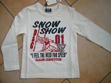 (C324) Dolce & Gabbana Boys Shirt mit Logo Stickerei Ski Druck & Aufnäher gr.104