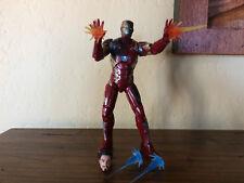 Marvel Legends Iron Man Civil War 3 pack Damaged Version