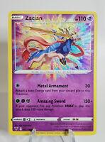 Zacian 082/185 - Vivid Voltage Amazing Rare Holo - Pokemon TCG Card
