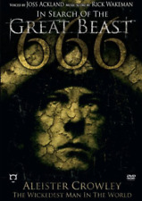 in Search of Great Beast 666 Aleister Crowley DVD 2007 Region 1 US Impor