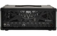 New EVH® 5150 III 50S 6L6 50 Watt Electric Guitar Amplifier Head Stealth Black