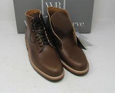 "Whites Boots, Main Street. British Tan, 9 D, 5 "", Dainite sole."