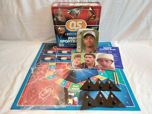 Preowned A Question Of Sport Famous Sporting Faces Board Game Complete & Boxed