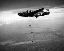 078 B-24 Liberator 15th AAF Bombing Yards At Forli Italy 19 May 1944 Photo 8x10