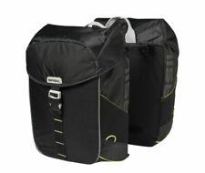 Basil Miles Double Bag Gepäckträger-Doppelpacktasche 34 Liter schwarz wasserfest