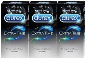 Durex Performa Extended Pleasure condoms Delay prolong x 3 10 20 50 100 200