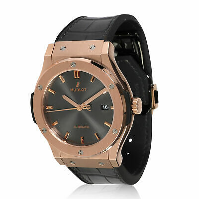 Hublot Classic Fusion Racing Gray 542.OX.7081.LR Men's Watch in 18kt Rose Gold