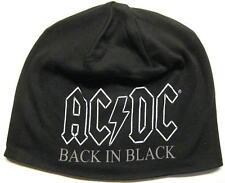 "AC/DC JERSEY BEANIE # 5 / MÜTZE / CAP ""BACK IN BLACK"""