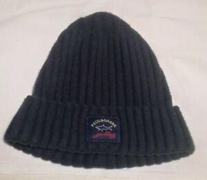 PAUL&SHARK Vintage Winter Hat Ski Snowboard Beanie Cap Knitted