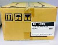 "Lot of (10)  Quantegy 478-17611C Factory Sealed Reel To Reel Pancake 1/4"" 2500FT"