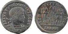 Constantin II, nummus, Antioche, GLORIA EXERCITVS SMANH -  61