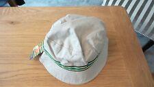 John Lewis Natural Beige Bucket Boys Hat 100% Cotton Brand New RRP £8