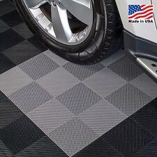 Garage Tiles | Drain Tiles Gray - Made In the USA