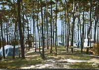 """Alte Postkarte - La Ferté-Alais - Terrain de Camping et Caravaning """"Le Cabanon"""""""