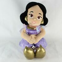 "Disney Parks Princess Jasmine Plush Doll Aladdin Purple 12"""