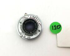 50mm f/3.5 Wollensak anastigmat lens in Alphax shutter