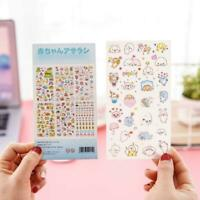 6 Stk Karikatur Tagebuch Sticker Aufkleber Deko Kawaii Scrapbooking R2D6