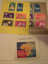 Sammlung Übersee, Afrika, Togo, aus 1921-1972, ungebraucht, viele Motive (60047)