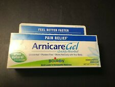 New Arnicare Gel Pain Relief Unscented 2.6 oz exp 8/22 SEALED Free Shipping B1