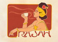 Café Rajah by Georges Meunier 90cm x 64cm Art Paper Print