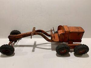 Doepke Model Toys 1950s Adams Road Grader Pressed Steel 1:12