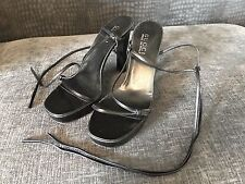 Good condition- Gucci black leather Sandals - 6.5 - 6 1/2 39.5