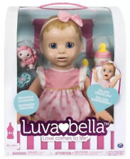 LUVABELLA Blonde Doll Baby Girl Realistic Expressions Love Comes To Life