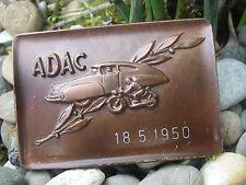 vintage STREAMLINE CAR TATRA ADAC 1950 Automobile Club Badge Plaque