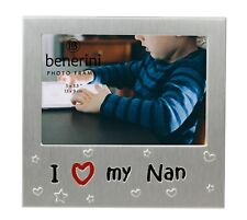 I Love My Nan Picture Frame Mothers Day Birthday Christmas Grandma Granny Gifts